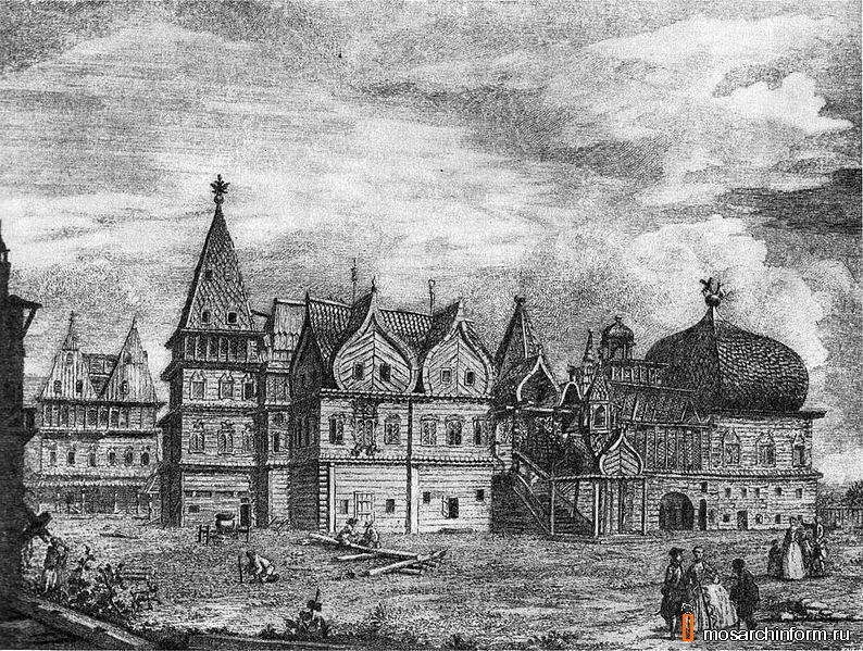 АРХИТЕКТУРА МОСКВЫ XVII века.  Автобусный экскурсионный тур по Москве