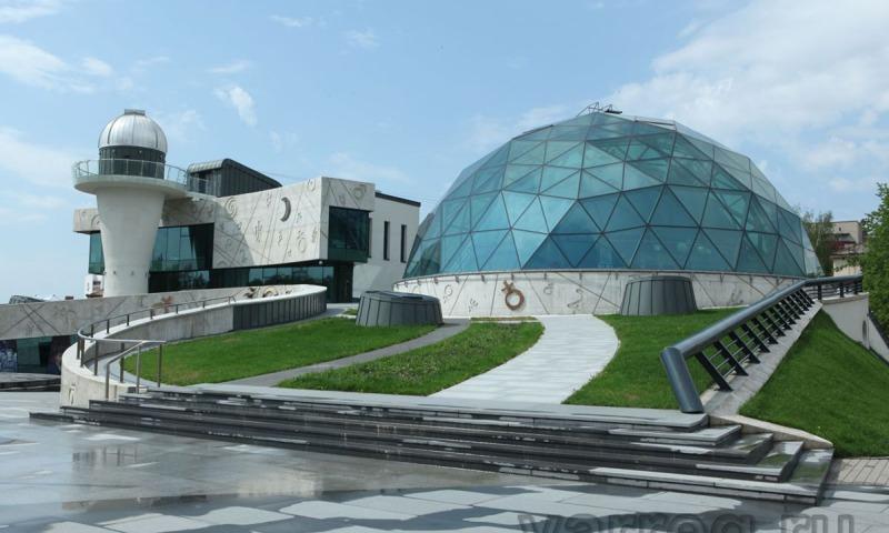 УВЛЕКАТЕЛЬНАЯ ЭКСКУРСИЯ В ПЛАНЕТАРИЙ.  Большой Звездный зал и музей Урании